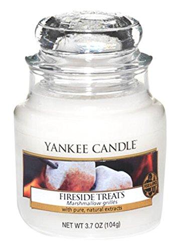 Yankee Candle Candela Piccolo Vaso, Fireside Treat 1254092E