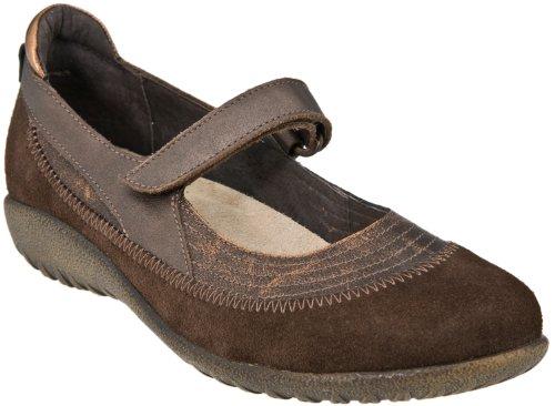 Naot Schuhe Frauen Kirei Mary Jane Wohnung Gebranntes Kupfer