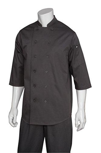 3/4 Sleeve Chef Coat (Chef Works Men's Chef Shirt (S100))