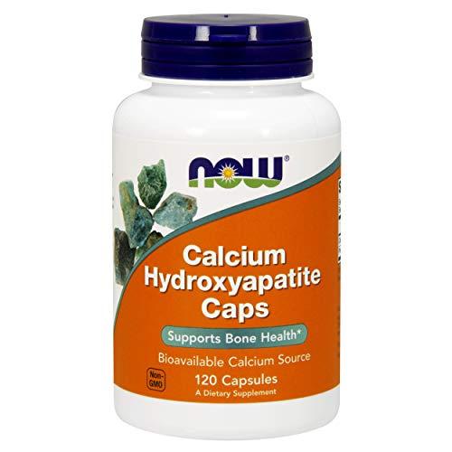 NOW FOODS SPO Calcium Hydroxyapatite, 120 Count
