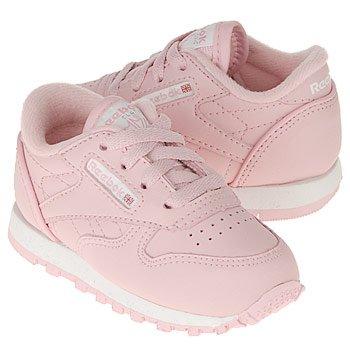 reebok cl leather toddler light pink 2