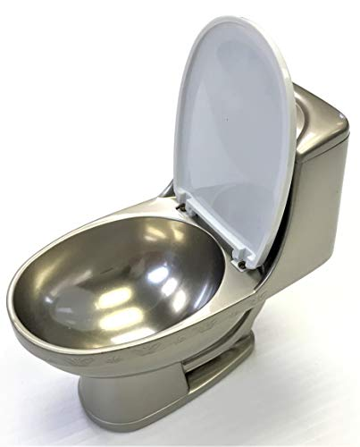Eclipse Collectible Novelty Toilet Table Lighter, 2-in-1 Ashtray& Lighter, 3ct, 1551-3 (Collectable Lighters)