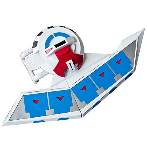 Ilovcomic Yu-Gi-Oh! Cosplay Prop Seto Kaiba Prop Changable Duel Disk 2nd Blue&White