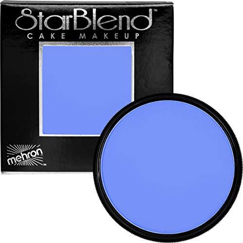 Mehron Makeup StarBlend Cake (2 ounce) (Blue) (Best Blue Body Paint)
