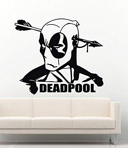 USA Decals4You | Marvel Wall Decals Deadpool Arrow