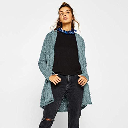Long Facile Automne El Femme Manches Mode Chic Loisir Printemps Manteau Cardigan Ouvert nqXRxgZn