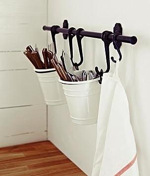 Amazon.com: Ikea juego de organizador para cocina, de acero ...