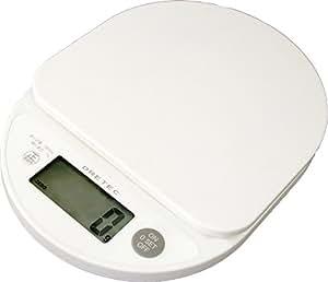 "DRETEC digital scale ""Kotti"" 2kg white KS-234WT"