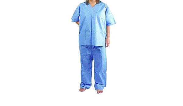 Pijamas desechables sms 50 unidades : Amazon.es: Industria ...