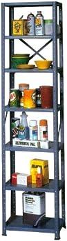 Edsal T121872 Value Line Saveaspace Steel Shelving Storage Rack