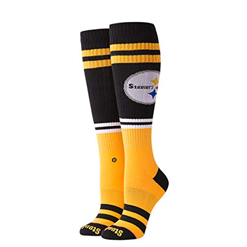 Stance Women's Pittsburgh Socks,Small,Yellow