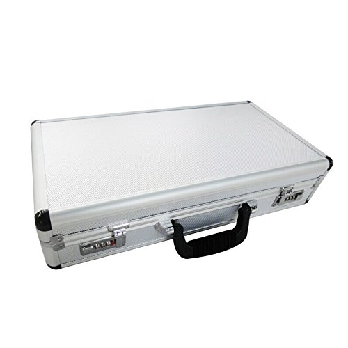 Hard Case Carry (SRA Cases Aluminum Case, 19.6 x 10.2 x 4.5)