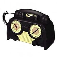 AM/FM Retro Clock Radio Phone
