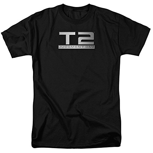 Unisex Terminator 2 Logo Official Adult T-Shirt - Small