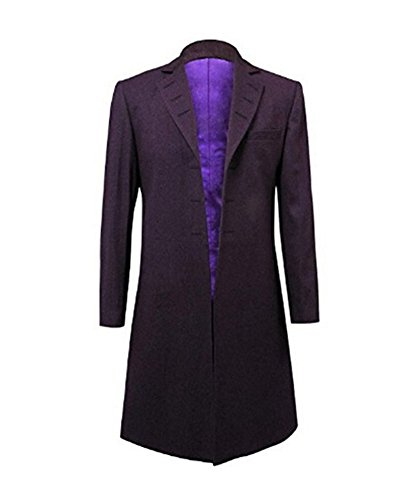 Hello-cos Mens Purple Coat Jacket Cosplay Costume (Man-S, Purple)]()
