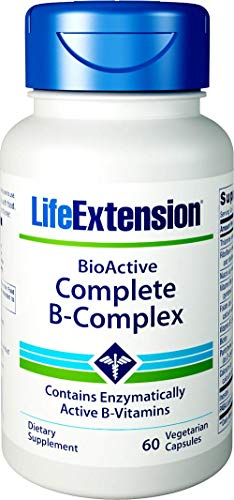 Life Extension Bio-Active Complete B-Complex, 60 Vegetarian -
