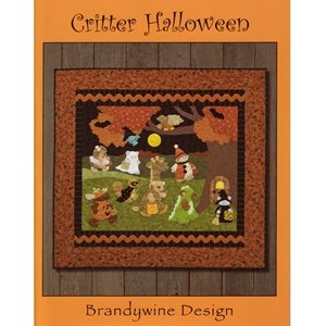 Critter Halloween Costume Trick Or Treat Applique Quilt 8 Project Pattern Book