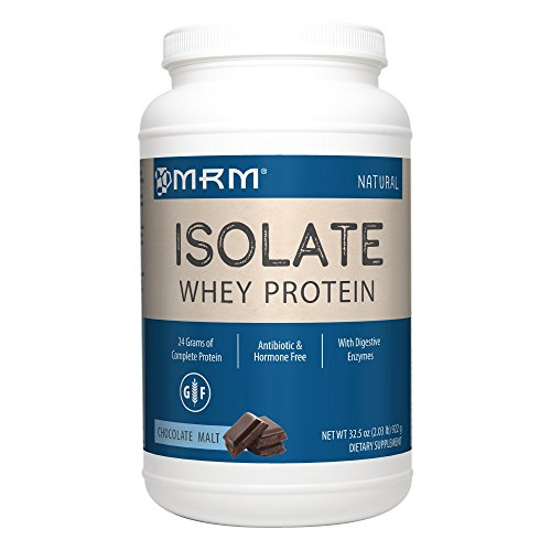 MRM - Whey Protein Isolate, Supports Muscle Building & Recovery, 100% All Natural, 24 Grams of Protein Per Serving (Chocolate Malt, 2.03 (Malts Collection)