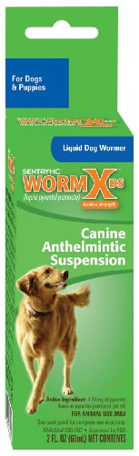 Sentry HC WormX DS Liquid Dog Dewormer, 2-Ounce, My Pet Supplies