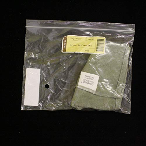 Longaberger Basket Fabric Liner 2004 Happy Halloween Sage Liner #2859787