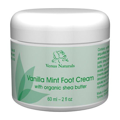 (Vanilla Mint Foot Cream 2oz Jar)