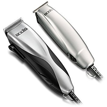 Andis LIGHTWEIGHT 27 PIECE HairCut Kit with Men's Hair Clippers and T-Line Hair Trimmer, BONUS FREE OldSpice Body Spray Included by Andis