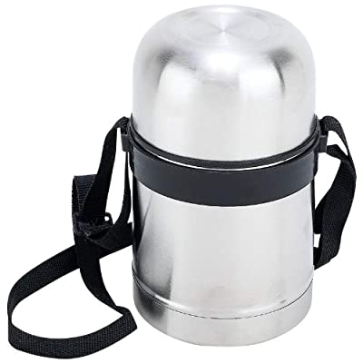 Maxam® 17oz (0.5L) Stainless Steel Vacuum Soup Container