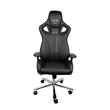 E-Blue Cobra Gaming Chair Piel sintética PC Racing Silla de Oficina ergonómico Ordenador Esports Escritorio Ejecutivo eec308bk: Amazon.es: Hogar