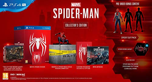 Best spiderman collectors edition ps4
