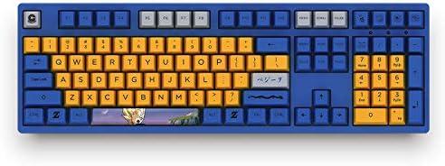 Akko 3108 Dragonball Z Vageta Mechanical Keyboard