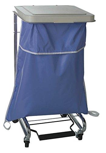 Medline MDT021377 Blue Latex Free Hamper Bag, Blockade, 44 gal, 35'' Width, 40'' Length (Pack of 12) by Medline