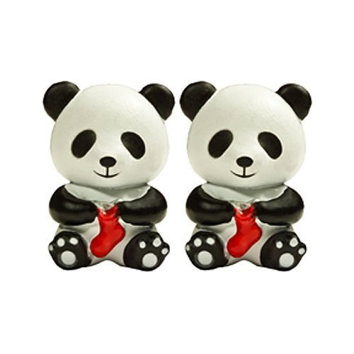 HiyaHiya Knitting Needle Point Protectors Panda (Set fo 2) for Small Needles (US 2-8) HIPANDAPOINTSM