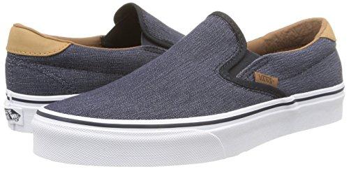 Furgonetas Se Deslizan En Los Zapatos Para Hombre Del Dril De Algodón Azul Marino C & L dRu7hfZhg