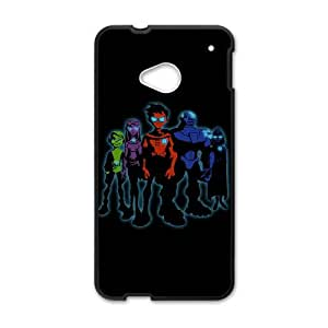 Teen Titans HTC One M7 Cell Phone Case Black 8You205891