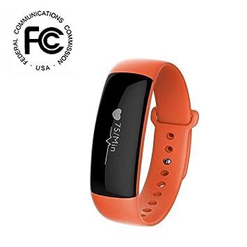 Bluetooth Pulsera Inteligente Deporte Actividad Tracker,Pulsómetros ...