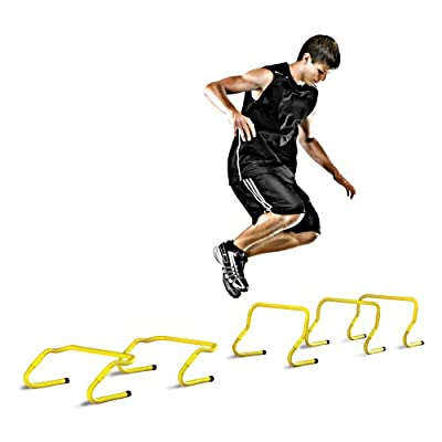Pro Performance Sports LLC SAQ-SPH01-02 5 Pack SKLZ Speed Hurdles