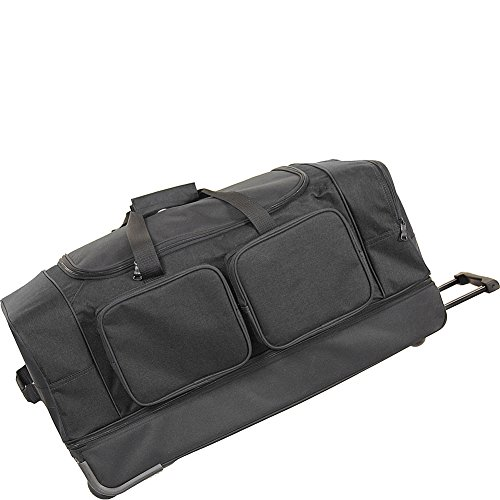 Netpack Summer 30'' Wheeled Duffel (Black) by Netpack