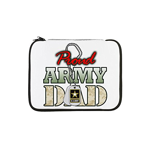 13 Inch Laptop Sleeve Proud Army Dad Army Reserve Components National Guard