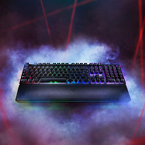 1c35d2bebde The Razer Huntsman Elite Opto-Mechanical Switch Gaming Keyboard is a  pioneer in its field. It contains the first clicky switch to both actuate  and reset at ...