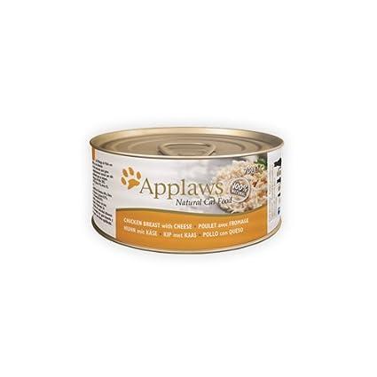 Applaws Cat Chicken Breast & Cheese, Lata, 1.68 kg: Amazon.es: Productos para mascotas
