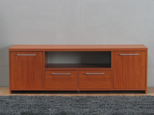Tv Tisch Hifi Mobel Medienschrank Schrank Lowboard Sideboard Kirsche