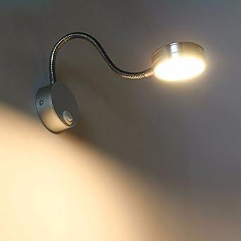 VanMe 5W Led Wandleuchten Moderne Schlafzimmer Lesen Wandleuchte  Ac110V/220V 360° Einstellung Innenbeleuchtung