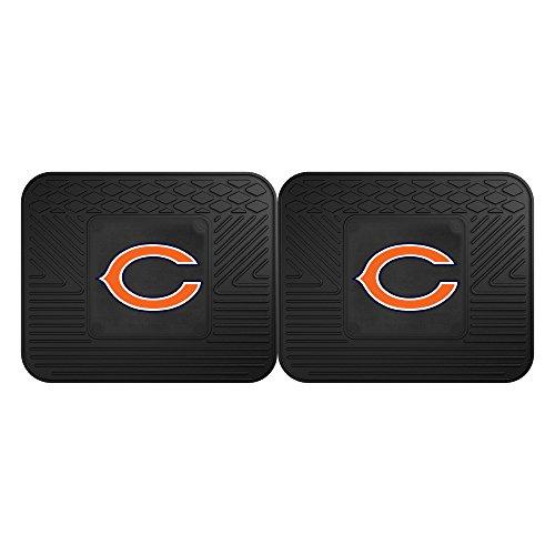 Mats Bears Chicago - FANMATS 12303 NFL - Chicago Bears Utility Mat - 2 Piece