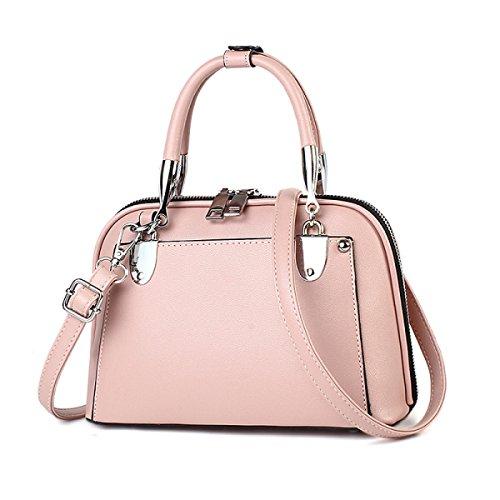 En Multicolore PU Pour à Cuir Sac Main à Lady Les Sac Vintage Femmes Pink Bandoulière Bandoulière Sac qSgZwwIT