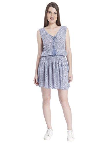 Vero moda kurzen blauen kleid