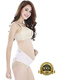 #1 Best Rated Maternity Belt - Babo Care Breathable...