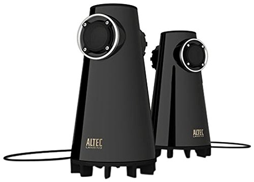 Altec Lansing FX3022 Expressionist BASS 2-Way Speaker for PC and MP3 (Black)