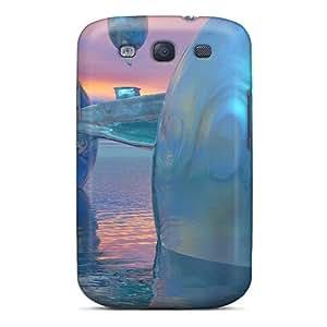 Hot Tpye Bridge Over The Sea Case Cover For Galaxy S3