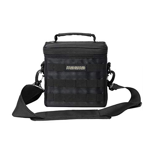 MAGMA 45 Record 50, Black/Khaki DJ Bag MGA43026 (Best Dj Record Bag)