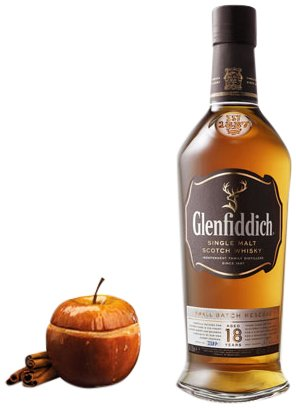 Oloroso Sherry (Glenfiddich 18 Year RSV Ancient 86 PR, 750 ml)